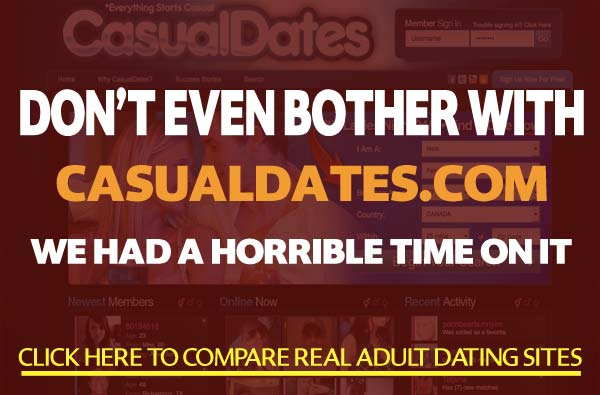 CasualDates.com sex site