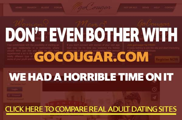 from Jayceon is there a legit cougar dating site