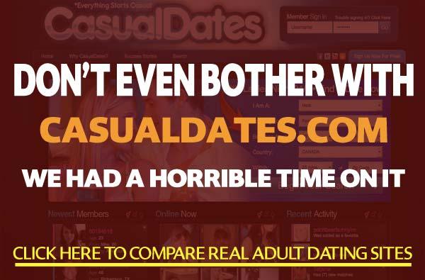 CasualDates.com sex site