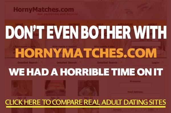 HornyMatches.com sex site